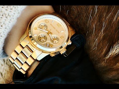 Часы женские Корс из Китая - YouTube