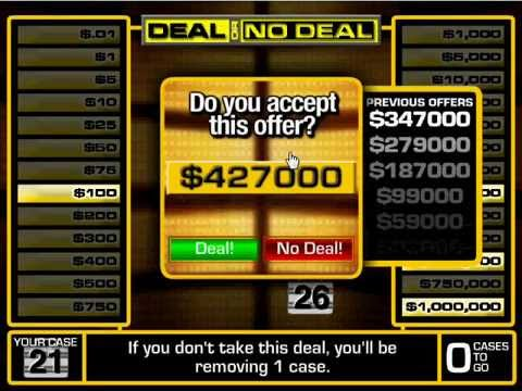 deal or no deal flash