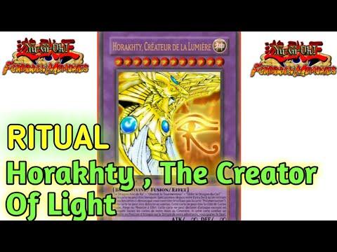 Yu-Gi-Oh Forbidden Memories Omega Mod - Ritual Three God Cards (Osiris , Obelisk And Ra ) = Horakhty
