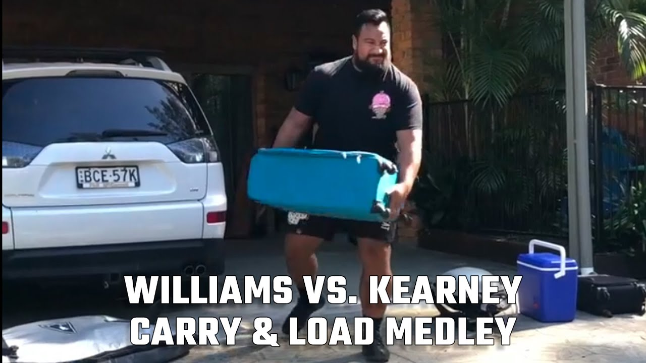 Download World's Strongest Man: Home Edition - Episode 6 – Eddie Williams vs. Rob Kearney, Carry & Load