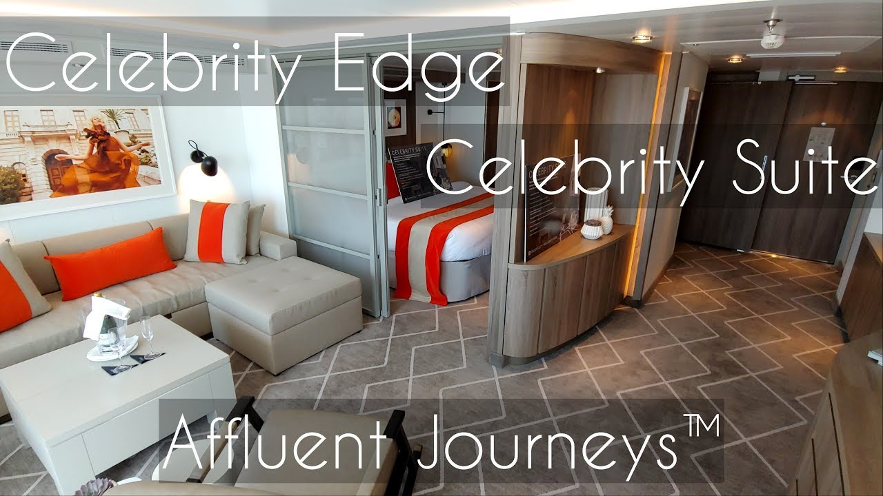 Celebrity Edge Celebrity Suite Youtube