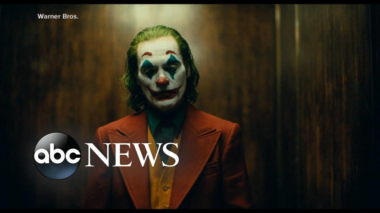 Military and FBI issues urgent warning ahead of 'Joker' release | ABC News