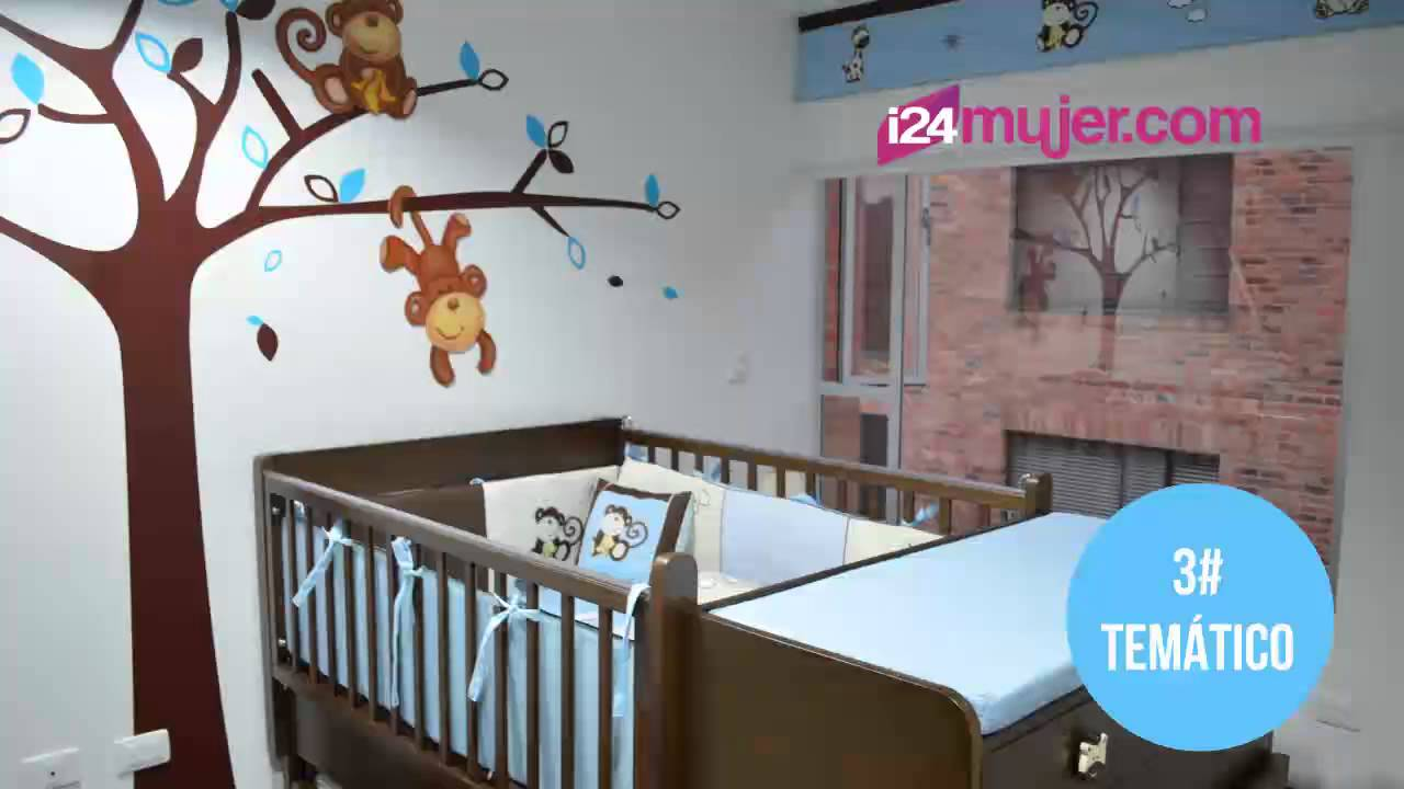 Es ni o 7 decoraciones para el cuarto de tu bebe youtube for Decoracion para cuarto de bebe varon