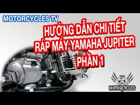Video 24 Dạy Sửa Xe: Phần 1 Hướng Dẫn Chi Tiết Lắp Ráp Bên Trong Động Cơ Jupiter   Motorcycles TV