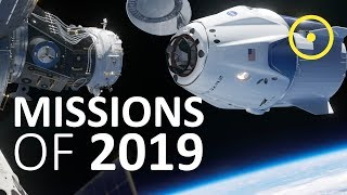 Top Space Missions of 2019