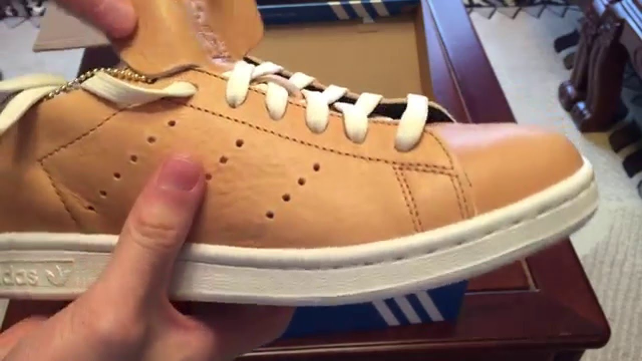 Adidas Stan Smith Leather Sock Unboxing & Review Premium Raw