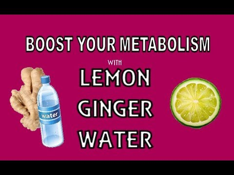 how to make ginger and lemon water youtube