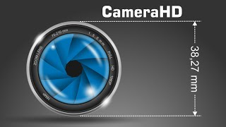 How to make camera LOGO - CorelDRAW