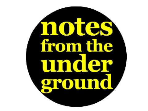 Notes from the Underground-A new creative writing freesheet