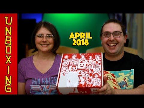UNBOXING! MunchPak April 2018 -  Snack Subscription Box!