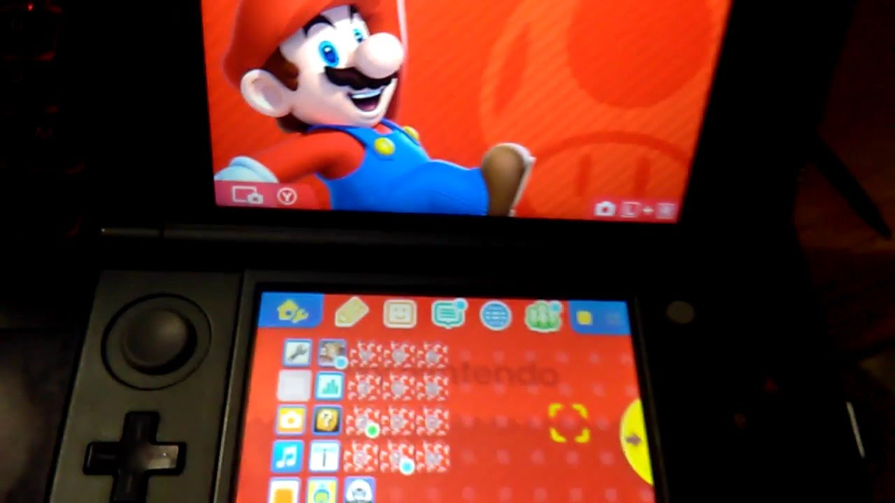 Redeeming My Nintendo Coins for the My Nintendo Theme 1: Mario - YouTube