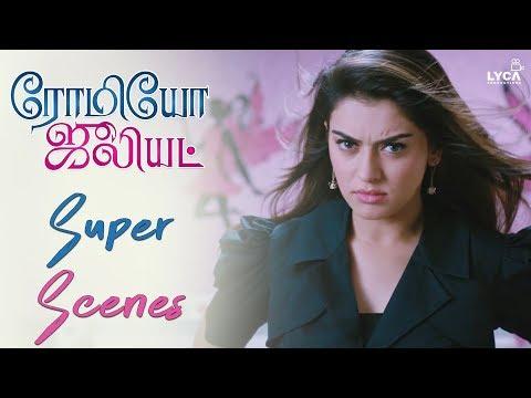 Jayam Ravi & Hanshika Introduction - Romeo Juliet | Scene | Lyca Productions