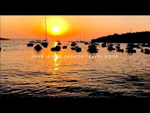 Hvar Island Croatia Travel Video