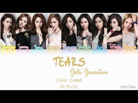 GIRLS' GENERATION (소녀시대) SNSD – TEARS (그대를 부르면) Lyrics Color Coded [Eng/Han/Rom]