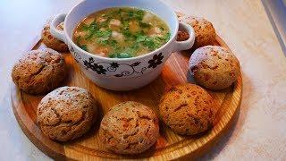 Гороховый суп по ШВЕДСКИ без КАРТОФЕЛЯ и ПРОСТОЙ рецепт ТВОРОЖНЫХ БУЛОЧЕК