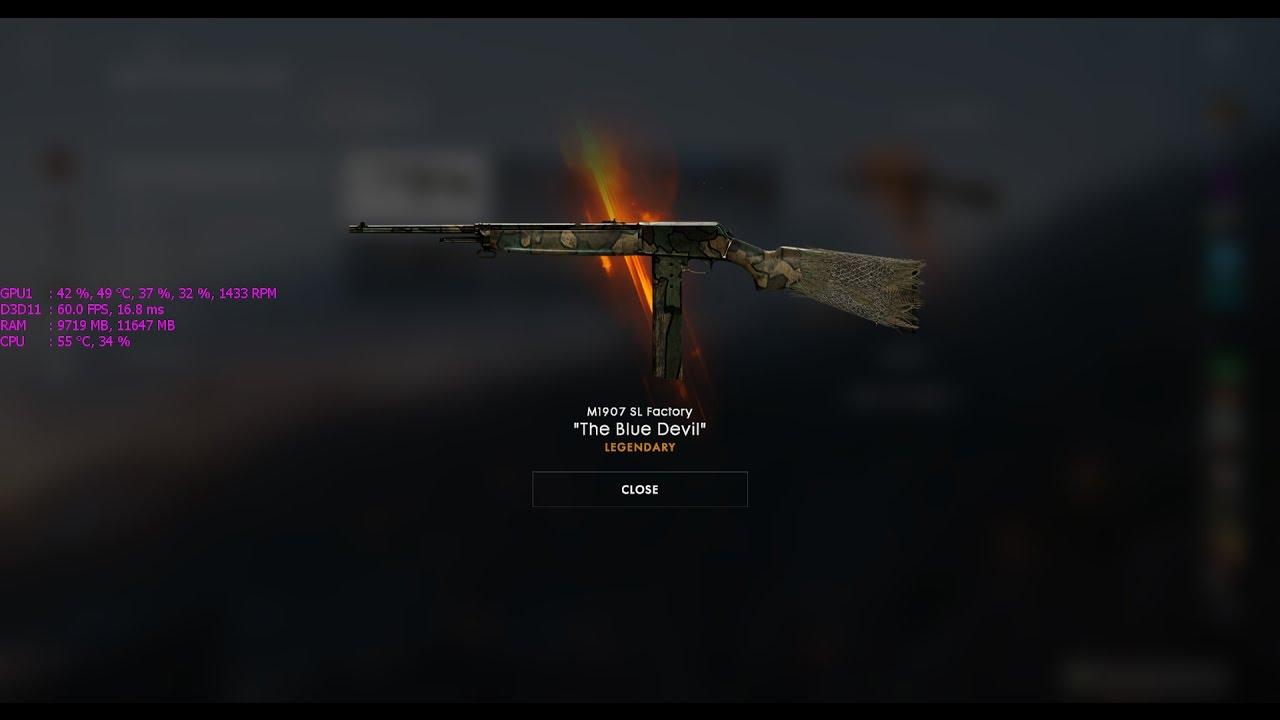 how to put skin on gun in battlefield 1