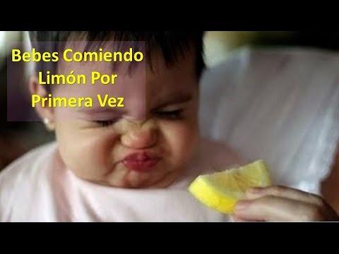 Bebes Comiendo Limón Por Primera Vez
