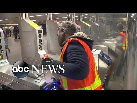 NYC disinfecting trains, stations as coronavirus cases grow nationwide | WNT