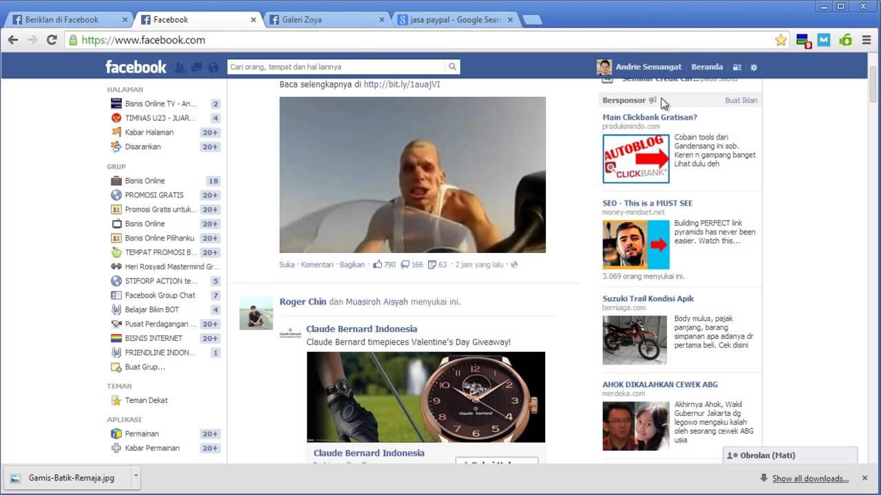 cara iklan menggunakan facebook ads