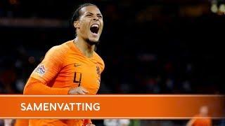 Samenvatting Nederland - Duitsland (13/10/2018)