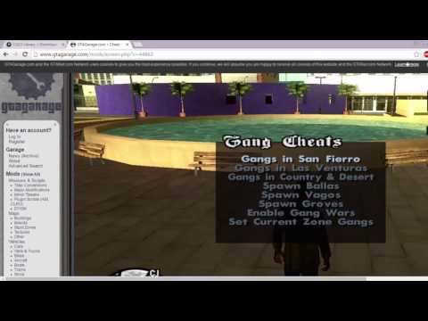 GTA SA CLEO Install With Menu MOD
