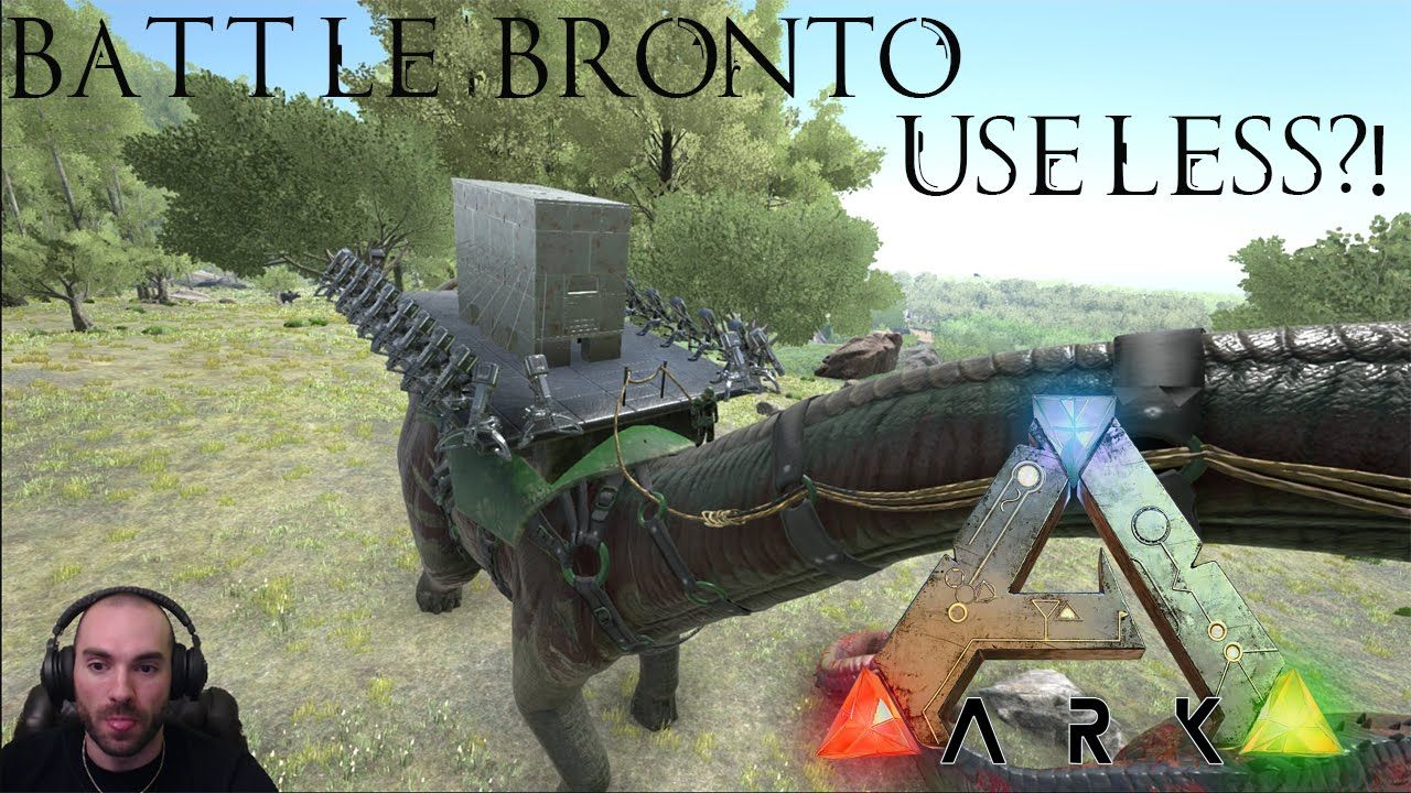 Ark: Survival Evolved - Battle Bronto Useless?! - YouTube