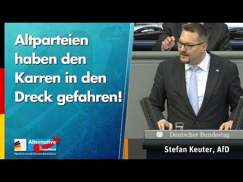 Ländlicher Raum: Altparteien haben den Karren in den Dreck gefahren! - Stefan Keuter - AfD-Fraktion