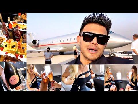Sahil khan Dubai Vlog | Private jet | luxurious lifestyle | Rolls Royce