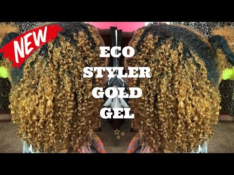 Comparing The NEW!!! ECO STYLER GOLD GEL to the Olive Oil Gel ft. My Sister 🤗 | Kashia Jabre