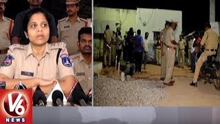 Police Conducts Cordon And Search Operation In Shadnagar, Seizes 49 Vehicles | Hyderabad | V6 News