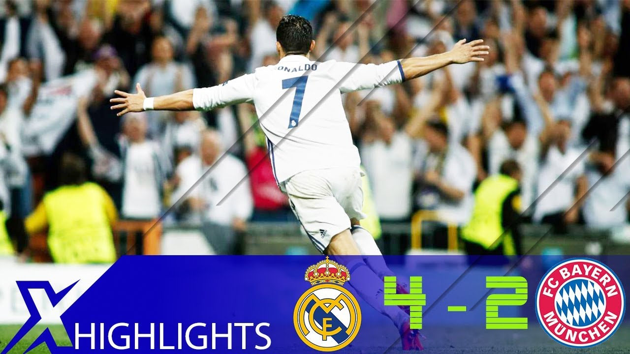Real Madrid Vs Bayern Munich 4 2 Ucl 16 17 Quarter Final