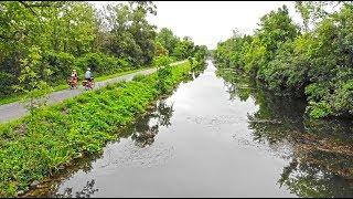 Cycling the Beautiful Erie Canal Trail-Ryan and Ali Bike Across America-Ep 32