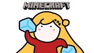 【Minecraft | 🌈KR Server】 氷の道を作ります! /얼음길을 만듭니다 【NIJISANJI KR | セフィナ】