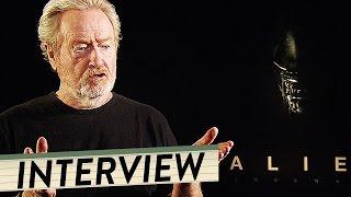 RIDLEY SCOTT Interview zu ALIEN COVENANT