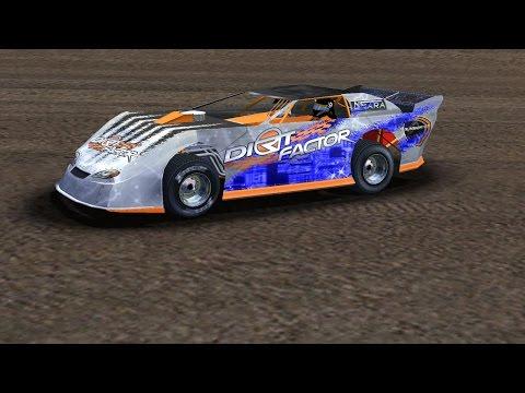 rFactor - DirtFactor Late Models - Silver Dollar Speedway