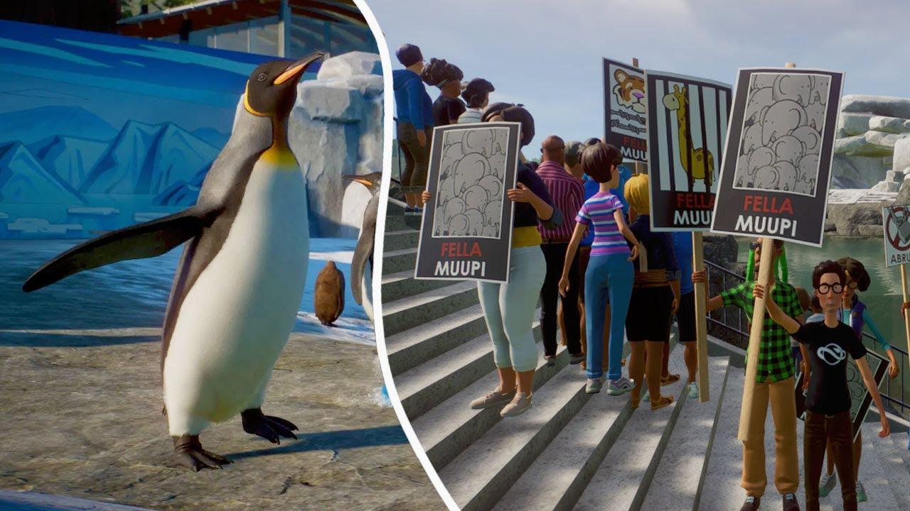 Making a Penguin Habitat in Planet Zoo (Streamed 12/8/20)