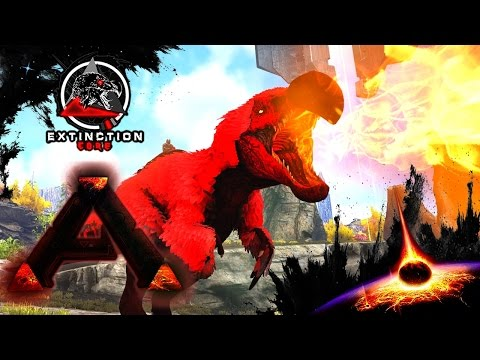 MODDED ARK: Extinction Core :: Ep 11 :: ALPHA DodoRexy & Alpha THORNY DRAGON!