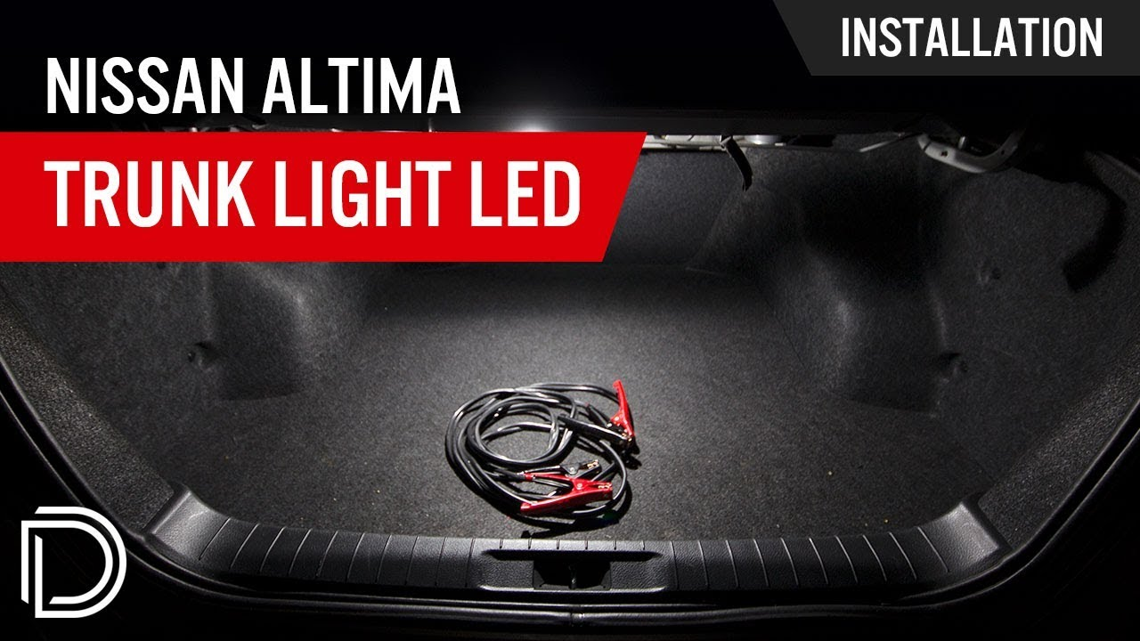 how to install nissan altima trunk leds [ 1280 x 720 Pixel ]