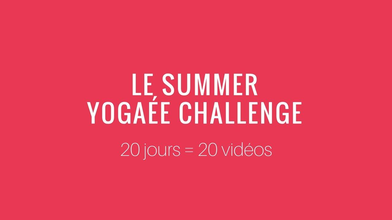 Summer Yogaée Challenge - Présentation