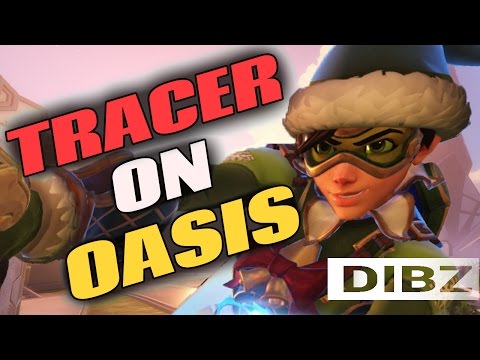 Overwatch: Tracer Is GODLY On Oasis! QP Commentary + MASTERS COMPETITIVE!