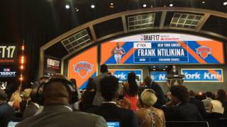 Knicks fans boo 1st-round pick Frank Ntilikina at 2017 NBA Draft thumbnail