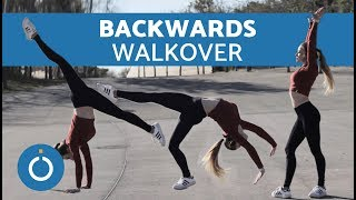 How to Do a Backwards Walkover Tutorial
