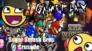 Smash Bros en PC! - SSB Crusade Gameplay en Español HD