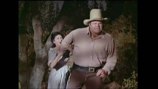 This is a clip from Bonanza: The Last Viking. Hoss (Dan Blocker) ha...