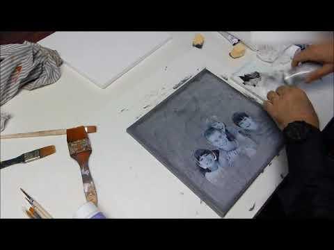 Belle DIY Déco : Tableau déco photo de famille - YouTube EM-31