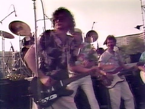 Jimmy Page with The Beach Boys 1985 (2 songs)