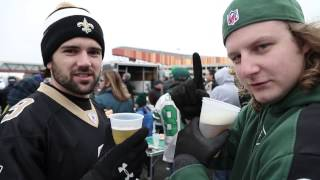 NY Jets vs New Orleans Saints 2013 Week 9 tailgate party, TailgateJoe