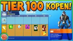 100 TIERS KOPEN VAN SEASON 6 BATTLE PASS (ALLES UNLOCKED)!! - Fortnite: Battle Royale