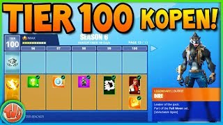 100 TIERS KOPEN VAN SEASON 6 BATTLE PASS (ALLES UNLOCKED)!! - Fortnite: Battle Royale