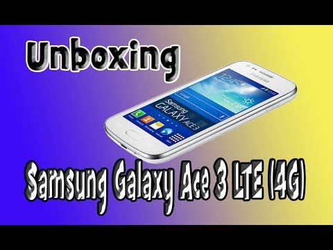 Review SAMSUNG GALAXY ACE 3 LTE (4g)